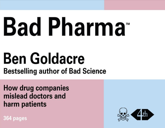 Bad Pharma book cover