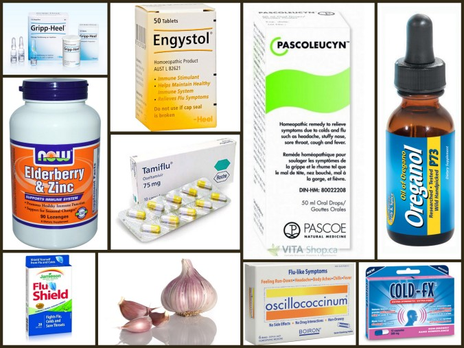 Influenza Alternatives: Engystol, Oscillio, Pascoleucyn, Flu Shield, Cold-fX, Gripp-Heel, Oil of Oregano