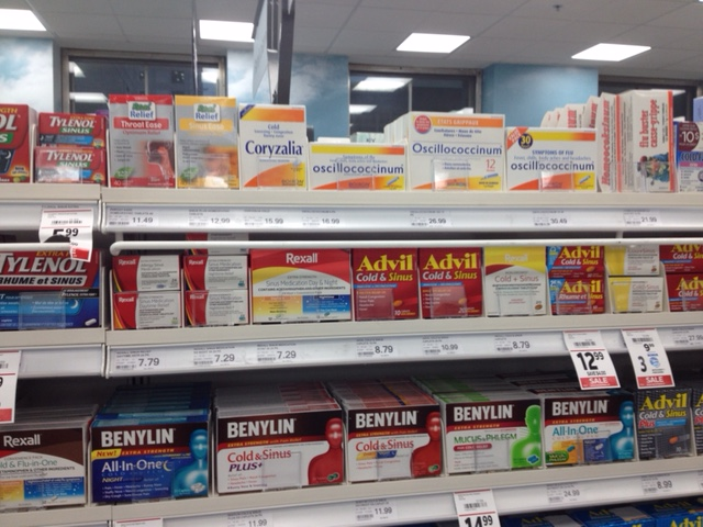 Can you spot the sugar pills among the medicine?